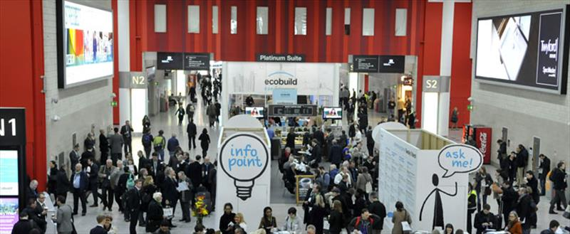 833 Solar will be visiting the ECOBUILD exhibition