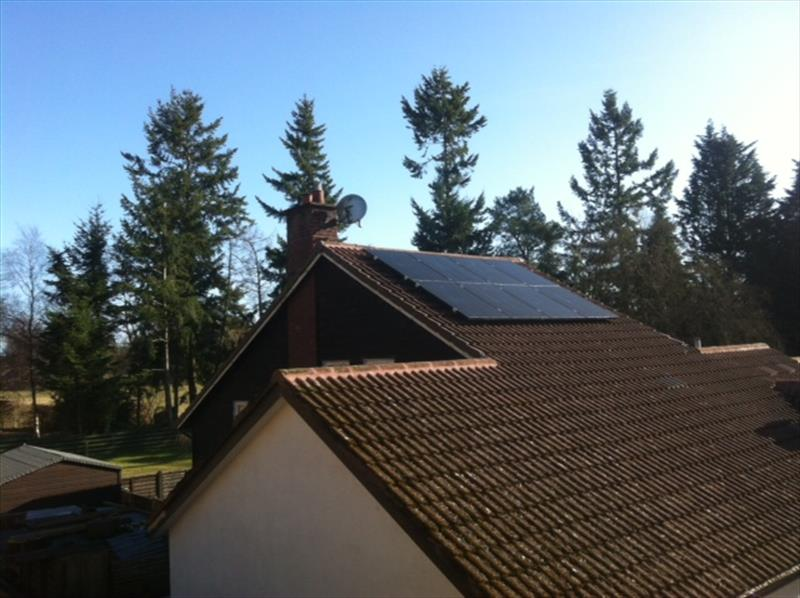 2 KW DOMESTIC PV SYSTEM IN SCOTLAND, 2013, 250W [8.250 MSGB] 8.33 SOLAR MONO CRYSTALLINE (GALLIUM) BLACK MODULES