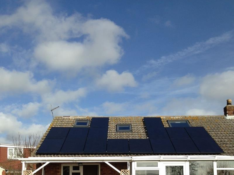4 KW DOMESTIC PV SYSTEM IN NORTH EAST ENGLAND, 2013, 250W [8.250 MSGB] 8.33 SOLAR MONO CRYSTALLINE (GALLIUM) BLACK MODULES