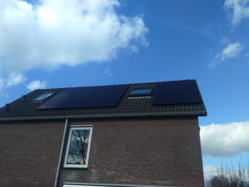 3 KW DOMESTIC PV SYSTEM IN OLDENZAAL, 250W 8.33 SOLAR ETERNITY.